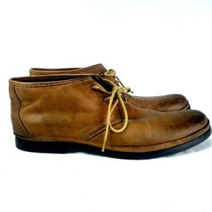 John Varvatos USA Mens 9.5 M Brown Chukka  46-22